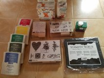 New- Stamps,ink, scrub pad in Sugar Grove, Illinois