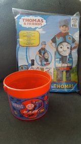 Toddler Boys Thomas & Friends Thomas The Train/Tank Halloween Costume & Bucket-(Size Small/4-6) in Kissimmee, Florida