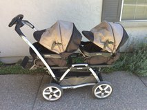 Peg Perego double stroller in Travis AFB, California