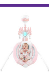 Fisher price pearl chandelier baby swing in Tacoma, Washington