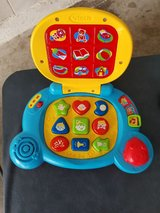 Baby's Talking/Musical Learning Blue Laptop By VTech in Kissimmee, Florida