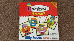 Silly faces games in Lakenheath, UK