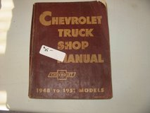 1948-51 Chevy Truck Shop Manual, used in Naperville, Illinois