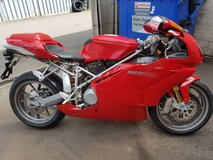 2003 Ducati 999s/Ohlins with only 3573 km's, full Ducati Service history, as new condition in Ramstein, Germany