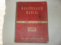 1952-54 GMC truck Maintenance Manual, used but complete. models 620-920 in Naperville, Illinois