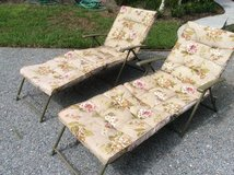 Pair- Chaise Lounge Chairs- New Price in Beaufort, South Carolina