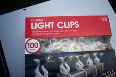 ALL PURPOSE LIGHT CLIPS (240 PCS) in Sugar Grove, Illinois