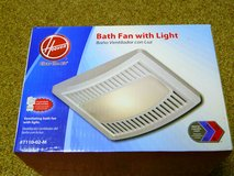 Bathroom Ventilation Fan with light - NEW! in Orland Park, Illinois