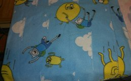 Adventure Time throw in Fort Campbell, Kentucky