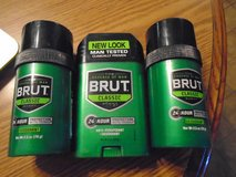 3 Brut classic deodorants ALL NEW in Tinley Park, Illinois