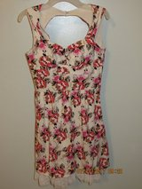 dELiA*s Junior Floral Dress Size 5/6 in Glendale Heights, Illinois