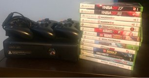 Xbox 360 games and controllers in Fort Rucker, Alabama