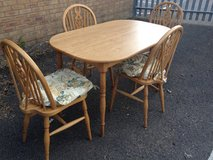 Dining table and 4 Chairs in Lakenheath, UK