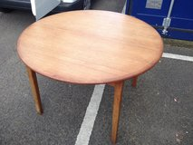 Round dining table in Lakenheath, UK