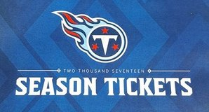2017 Tennessee Titans Tickets in Clarksville, Tennessee