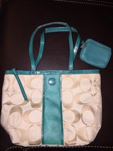 Coach bag with wallet in Lawton, Oklahoma