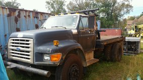 1995 ford winch truck in Beaumont, Texas