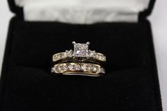 3 pc Wedding Set, 14K Yellow Gold, Approximately 1 ct/tw in Hopkinsville, Kentucky
