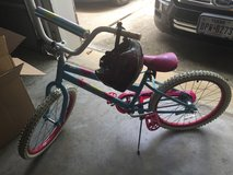 Girls Seastar bicycle and helmet in Kingwood, Texas