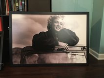 Marilyn Monroe framed picture in Waukegan, Illinois
