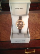 Nine West Two-Toned Gold/Bronze Faced Watch in Camp Lejeune, North Carolina