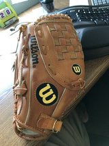 Wilson baseball glove (right handed catch / left handed throw) in Batavia, Illinois