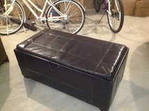 Pleather trunk with table side also! in Watertown, New York