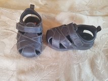 Size 4 toddler boy sandles in Fort Drum, New York