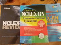 Old NCLEX-RN books in Tacoma, Washington