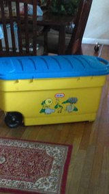Little Tikes Giant Rolling Toy Box in Conroe, Texas