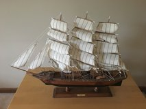 Wooden Sailing Ship Model in Bartlett, Illinois