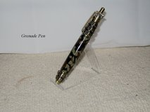 GRENADE PEN ANTIQUE BRASS W/CAMOUFLAGE in Fort Campbell, Kentucky