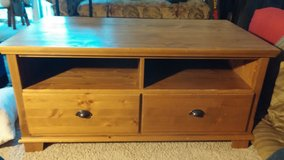TV Stand Coffee Table Solid Wood in Westmont, Illinois
