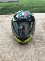 AGV K3 Gothic Motorcycle Helmet Large with Mirrored Visor in Lawton, Oklahoma