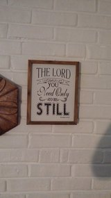 Bible Verse wall decor in Lockport, Illinois
