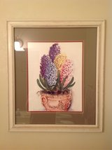 Hyacinth flower print in Plainfield, Illinois