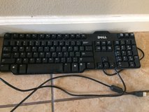 Dell keyboard for a computer in Yucca Valley, California