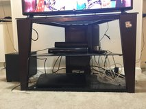 Moving sale. TV stand, Dining table, Leather sofa, Chair, Coffee table, King bed frame and more in Louisville, Kentucky