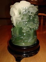 "Carved ""Jade"" Pen Holder in Davis-Monthan AFB, Arizona"