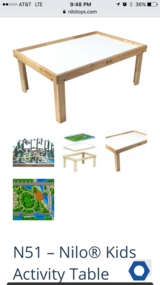 Nilo Train/Activity Table in Tomball, Texas