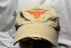 University Texas Longhorn NCAA Orange Men's Baseball Hat Cap Lid Adjustable in Kingwood, Texas
