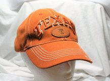 University Texas Longhorn NCAA Orange Men's Baseball Hat Cap Lid Embroidered in Kingwood, Texas