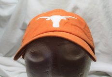 University Texas Longhorn NCAA Orange Men's Baseball Hat Cap Lid Adjustable 2 in Kingwood, Texas