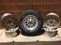 JEEP wheels and spare tire REDUCED! in Alamogordo, New Mexico