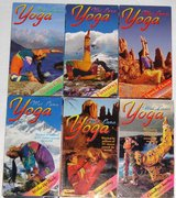 6 Wai Lana Yoga VHS Tapes in Camp Lejeune, North Carolina