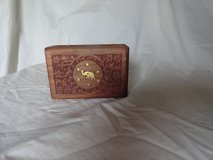 Crafted wooden box jewelry etc in Lakenheath, UK