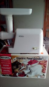 Rival Electric Food Grinder in Shorewood, Illinois