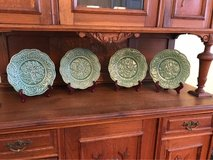 Four Beautiful Green Plates in Shaw AFB, South Carolina