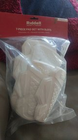 Football 7 piece pad set with slots **Brand new** in Lockport, Illinois