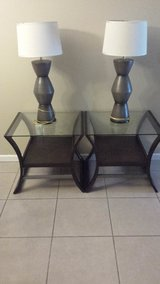 3 coffee table set with 2 lamps set in Hinesville, Georgia